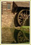 Water Wheel in summer