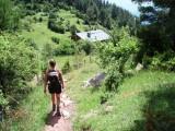 Approaching Refugio San Jordi