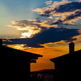 Sunset. Halkidiki, Greece