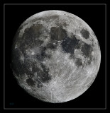 Moon, one day before the full moon.....