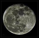 Moon, 2 days after lunar eclipse