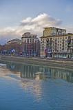Kura river, view on Griboedov's quay