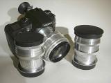 Compare CZJ Biotar 75mm f1.5 Fat and Skinny