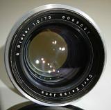 Carl Zeiss Jena Biotar 75mm f1.5 M42 1940's