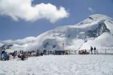 Saas Fee et son metro alpin