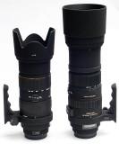 Sigma 150-500mm DG OS vs Sigma 50-500mm EX DG