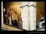La Beatlescena del balcón