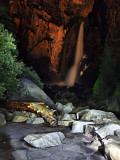 Lower Yosemite Falls flashlight painting.