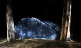 Boulder flashlight painting