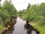 downstream side of bridge on June 26, 2010