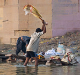 The Laundrymen of Varanasi