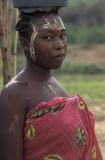 Bekopaka, after washing the clothes