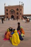 New Delhi. Juma Masjid