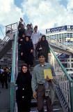 Tehran, street crossing