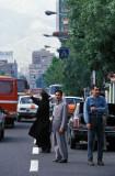 Tehran, flaging a cab
