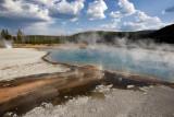 Black Sand Geyser Basin, Handkerchief Pool