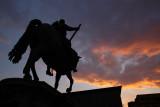 Piazza della Signora, equestrian statue of Cosimo I