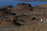 View from the summit of Bartolomé Island