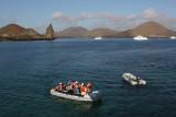 Arriving to Bartolomé Island