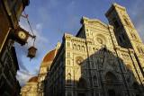 Duomo and Campanile at sunset