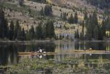 Kayaking at String Lake
