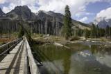 Old bridge, String Lake