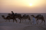 On the desert near Douz