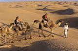Camel ride at Douz