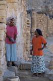 Chenini, neighbour's conversation