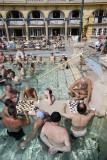 Szechenyi Baths, chess players