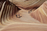 The Wave. Coyote Buttes North, Paria, USA
