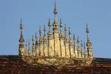 Roof detail of Wat Xieng Thong