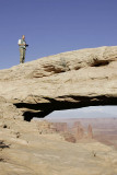 Me at the Mesa Arch