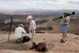 Photographers at Grand View Point Overlook