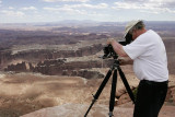 Photographing from Grand View Point Overlook
