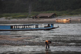 A bath in the Mekong river