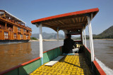The boat to Pak Ou Caves