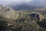 The road to Cântaros area