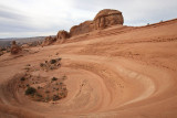 Delicate Arch crater