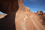 Delicate Arch from another arch