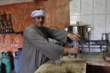 Al-Kharga, cafe owner
