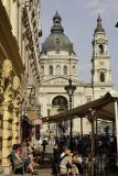 Zrinvi Utca and St. Stephen's Basilica
