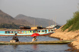 At Mekong River, the arrival