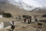 More pilgrims arrival, Reting Monastery
