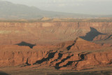 White Rim from Mesa Arch
