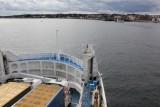 Approaching Helsingør, Denmark 往丹麥前進