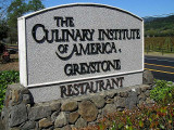 THIS SIGN ANNOUNCES THE ENTRANCE TO THE CIA AT GREYSTONE