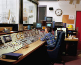 THIS IS THE NICE WARM AND COMFORTABLE CONTROL ROOM OF THE MAYALL TELESCOPE