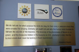 EACH VISITOR TO KITT PEAK IS GREETED BY THESE INSPIRATIONAL WORDS BY A FAMOUS ASTRONOMER