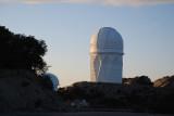 THE MAYALL TELESCOPE AT SUNSET